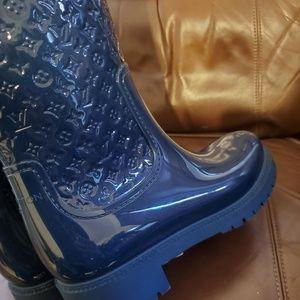 Louis Vuitton Shoes - Women's Louis Vuitton Rain Boots 39